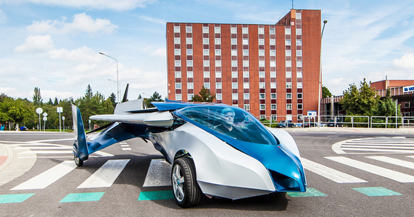 Apparently, The Future Is Now. This Brand-New Flying Car Is Awesome.