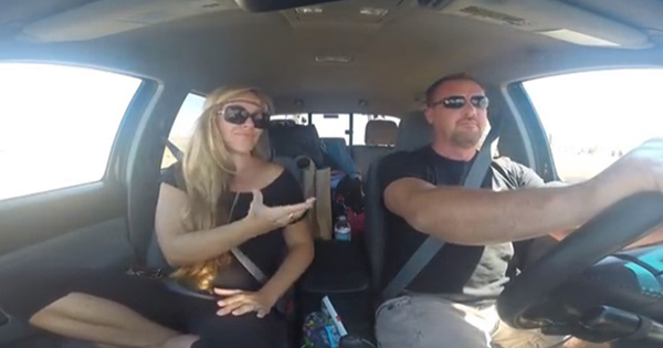 There's Something Different About This Couple's Radio Sing Along.