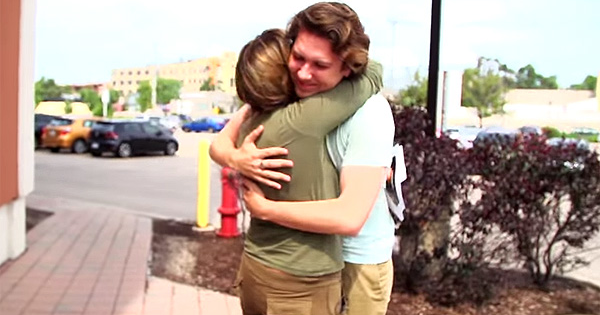 Son Surprises His Mother With Her Dream Car, And It's Not Exactly The Car You'd Imagine.