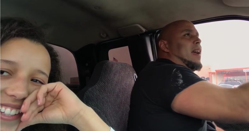 Teen Films Dad Singing In The Car And Millions Are Stunned By How Talented He Is
