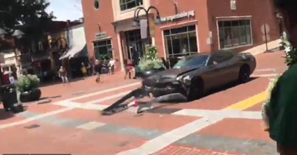 Charlottesville Protests: Car Plows Into Crowd Of Anti-Racist Protestors  See The Disturbing Video