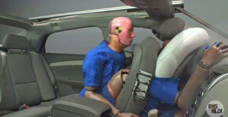 Study: Unbelted rear seat passengers can kill drivers in a crash