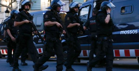 Five Suspected Terrorists Killed After Attacks on Spain