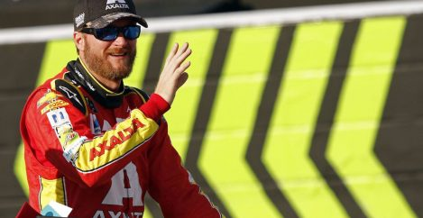 Dale Earnhardt Jr. is the biggest NASCAR figure to vocally support anthem protests
