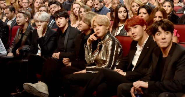 K-pop band BTS was the biggest talking point of this year's AMAs