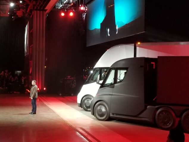 Elon Musk Channels Knight Rider With His Roadster-Semi Reveal