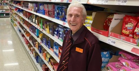 Oldest shop worker dies after retiring