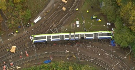 Tram crash driver 'may have dozed off'