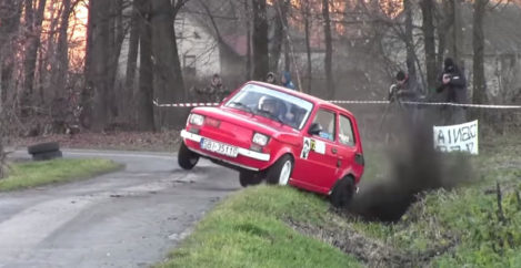 I Cant Stop Watching These Rally Drivers Push the Absolute Limits of this Fiat