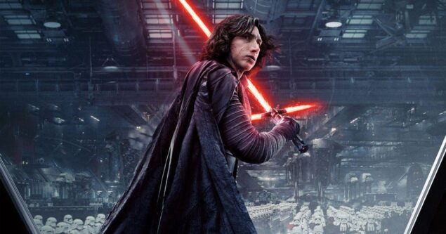 Adam Driver had no problem with shirtless Kylo Ren scene, obviously