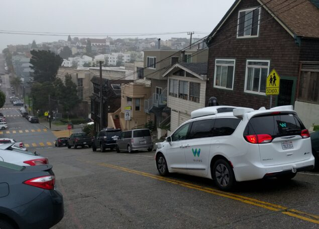 Waymos self-driving Chrysler Pacifica begins testing in San Francisco
