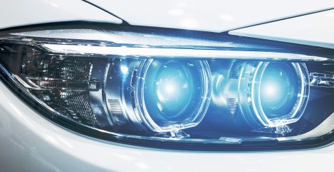 Brilliant New Headlights Use a Million Pixels to Talk to the World