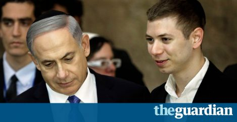 Netanyahu son bragged about gas deal outside strip club, tape reveals