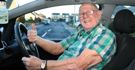 79-year-old gets his first driver's license, and all in the name of love