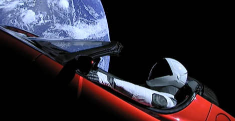 Elon Musk Sends Electric Car Into Space Aboard World's Most Powerful Rocket
