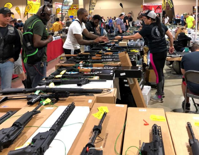 Days After Parkland, Its Business as Usual at a Florida Gun Show