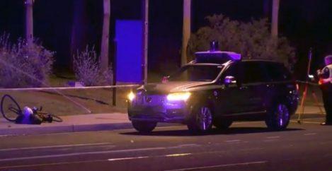 Uber Autonomous Accident Video Shows Car Just Before Collision
