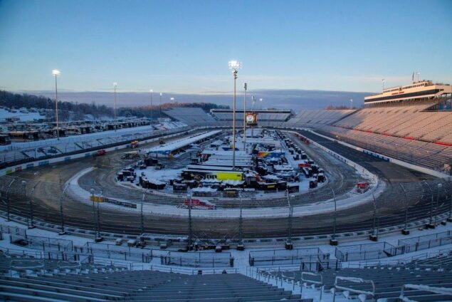 Martinsville NASCAR race postponed by snow