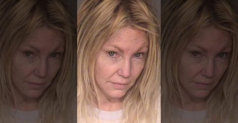 Heather Locklear arrested for domestic violence, attacking police officers