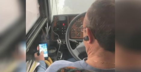 Bus driver fired for watching YouTube videos while driving passengers