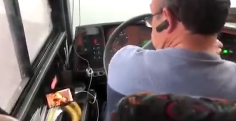 Bus driver reportedly fired for watching Mrs. Doubtfire on YouTube during trip